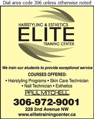 Elite Hairstyling & Esthetics Training Center - Schools & Colleges Digital Ad