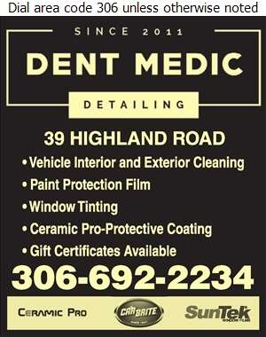 Dent Medic Detailing - Auto Cleaning Digital Ad