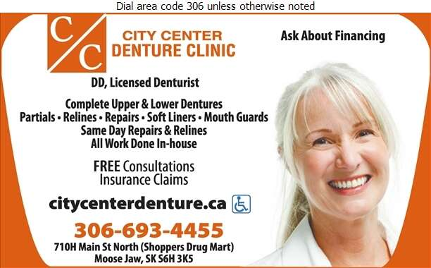 City Center Denture Clinic - Denturists Digital Ad