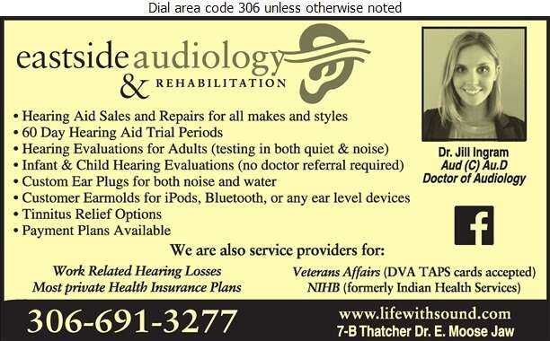 Eastside Audiology & Rehabilitation Inc - Hearing Assessment & Hearing Aids Digital Ad