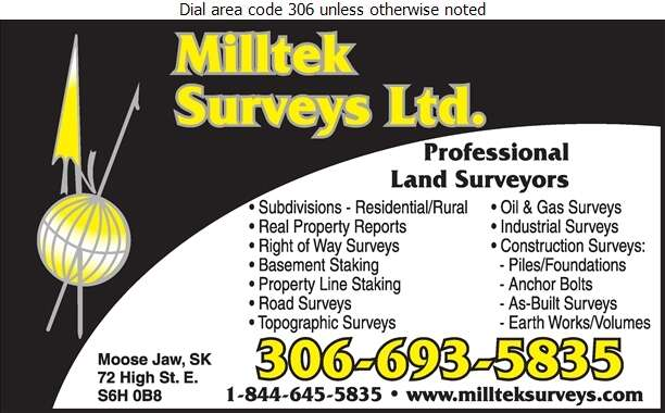 Milltek Surveys Ltd - Surveyors Land Digital Ad