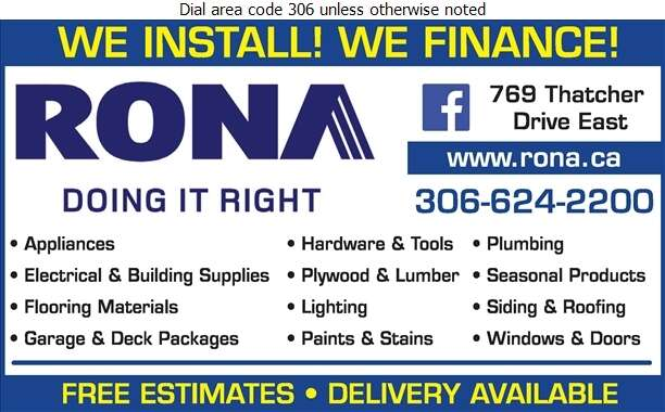 Rona Inc - Lumber Retail Digital Ad