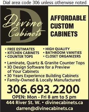Divine Cabinets - Kitchen Cabinets & Equipment Digital Ad