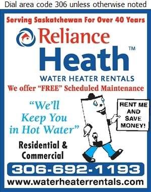 Reliance Heath Water Heater Rentals - Water Heaters Dealers Digital Ad