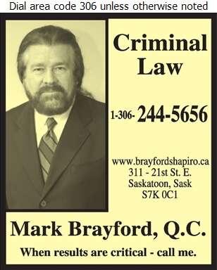 Brayford Shapiro (Criminal Lawyer) - Lawyers Digital Ad