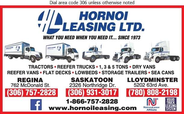 Hornoi Leasing Ltd - Truck Renting & Leasing Digital Ad
