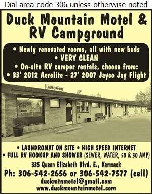 Duck Mountain Motel - Motels Digital Ad