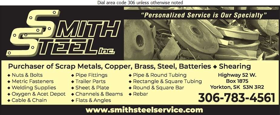 Smith Steel - Steel Digital Ad