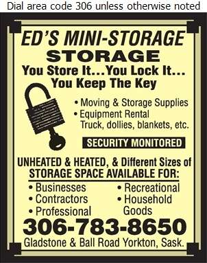 Mini Storage - Storage- Household & Commercial Digital Ad