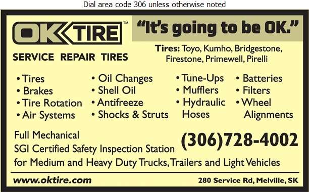OK Tire - Auto Repairing Digital Ad