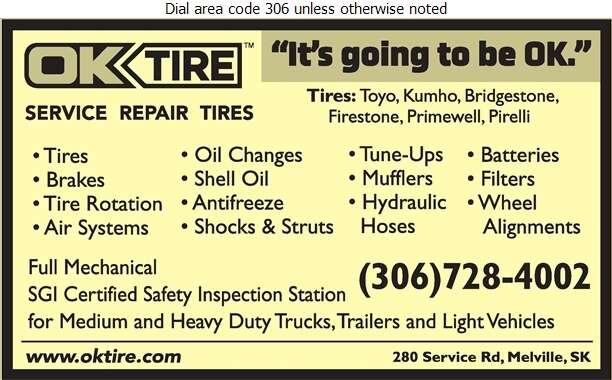 OK Tire - Auto Repairing Digital Ad