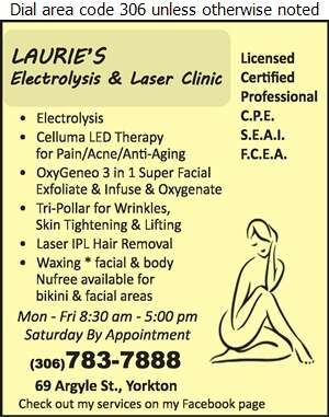 Laurie's Electrolysis & Laser Clinic - Laser Treatments Digital Ad