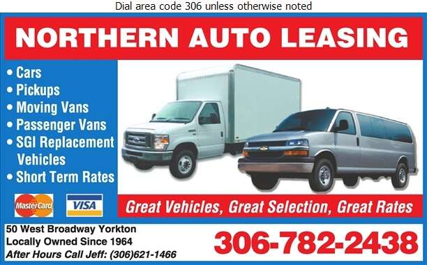 Northern Auto Leasing - Auto Renting & Leasing Digital Ad