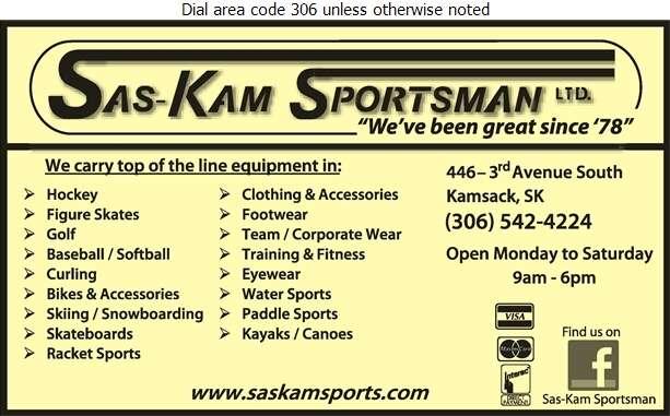 Sas-Kam Sportsman - Sporting Goods Retail Digital Ad