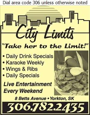 City Limits Inn - Restaurants Digital Ad