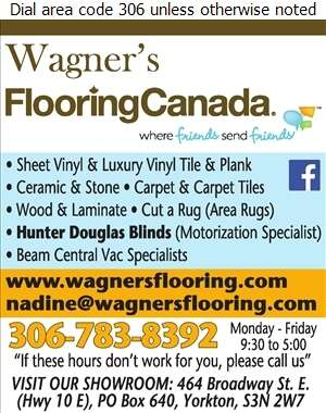Wagner's Flooring Ltd - Carpets & Rugs Retail Digital Ad