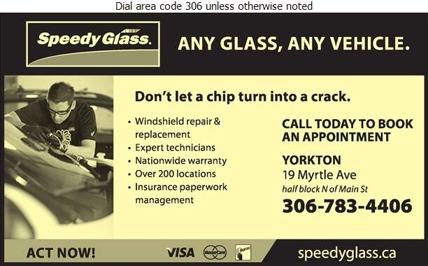 Speedy Glass - Glass Auto, Float, Plate, Window Etc Digital Ad