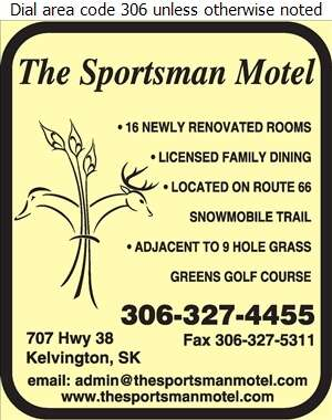 The Sportsman Motel - Motels Digital Ad