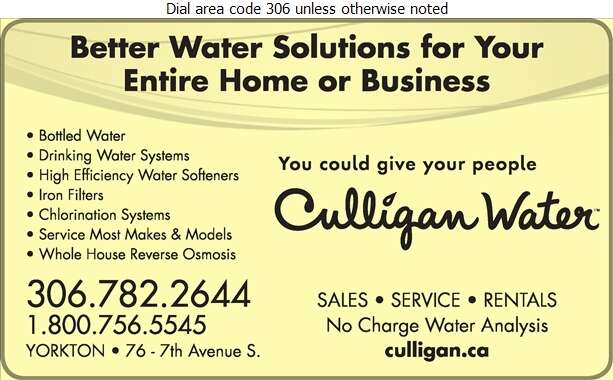 Culligan Water - Water Purification Equipment Digital Ad