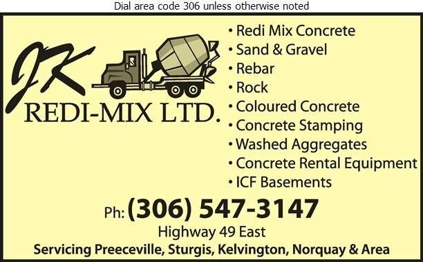 J K Redi-Mix Ltd (Cell) - Concrete Contractors Digital Ad