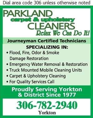 Parkland Carpet & Upholstery Cleaners Ltd - Flood Damage Restoration & Floodproofing Digital Ad