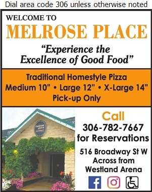 Melrose Place - Pizza Digital Ad
