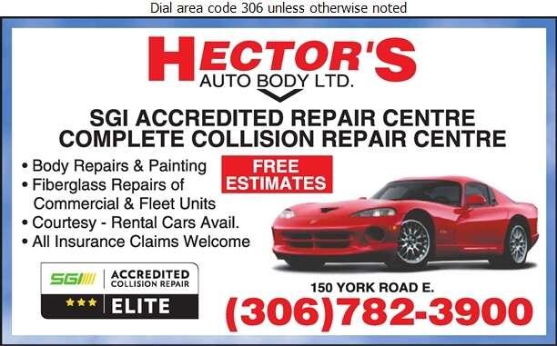 Hector's Auto Body Ltd - Auto Body Repairing Digital Ad