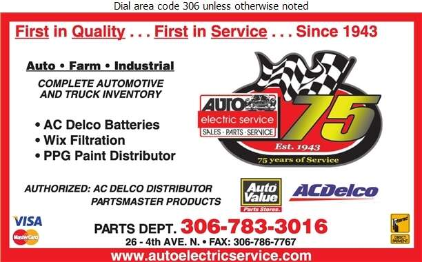 Auto Electric Service - Auto Parts & Supplies Retail Digital Ad