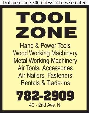 Tool Zone - Tools Digital Ad