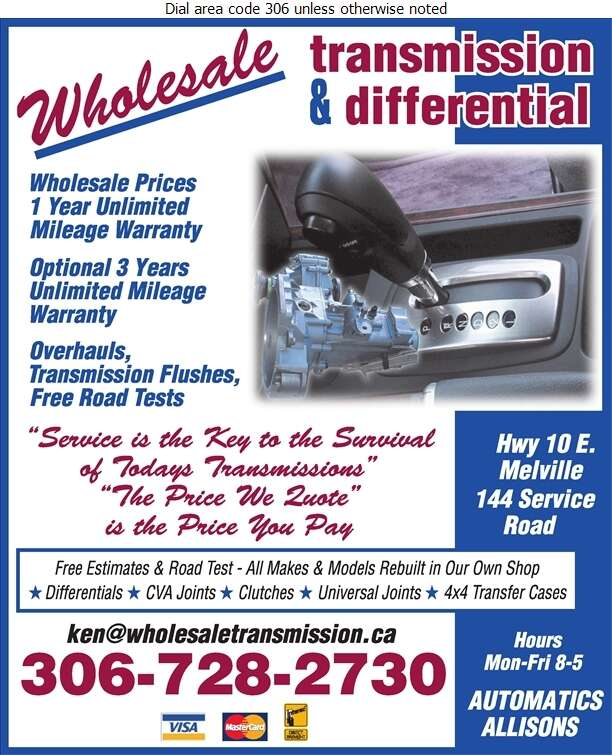 Wholesale Transmission & Differential - Transmissions Auto Digital Ad
