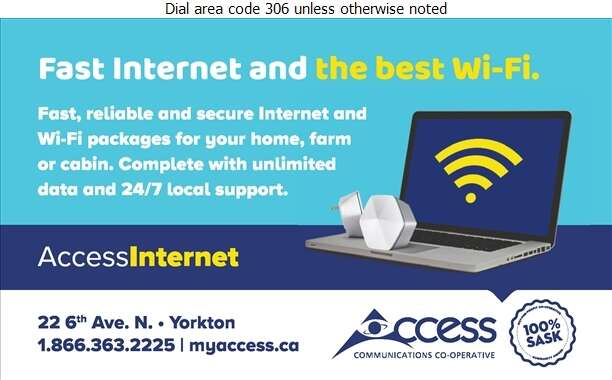 Access Communications - Internet Products & Services Digital Ad