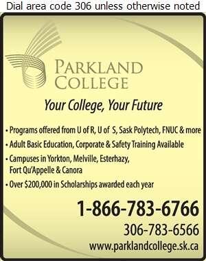 Parkland College - Schools & Colleges Digital Ad