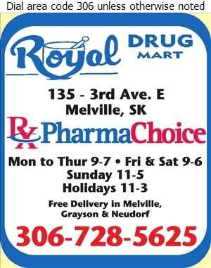 Royal Drug Mart - Pharmacies Digital Ad