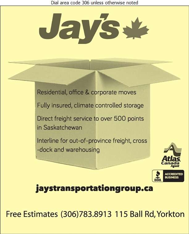 Jay's Transportation Group Ltd - Movers Digital Ad