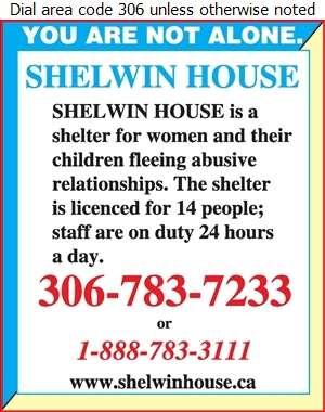 Shelwin House - Crisis Centres Digital Ad