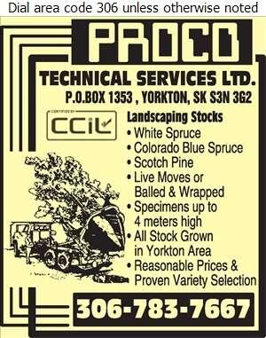 Proco Technical Services Ltd - Landscape Contractors & Designers Digital Ad