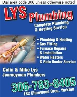 Lys Plumbing - Furnaces Heating Digital Ad