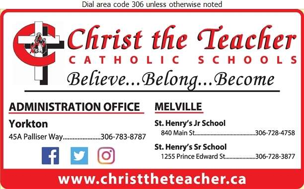 Christ the Teacher Catholic Schools (Sacred Heart High School) - School Boards Digital Ad