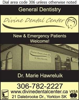 Divine Dental Center (Dr Marie Hawreluik) - Dentists Digital Ad