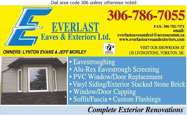 Everlast Eaves & Exteriors Ltd - Eavestroughing Digital Ad