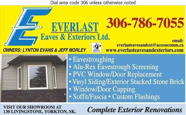 Everlast Eaves & Exteriors Ltd - Eavestroughing Digital Ad