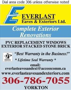 Everlast Eaves & Exteriors Ltd - Siding Digital Ad