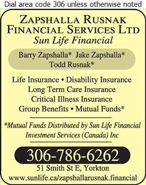 Zapshalla Financial Services Ltd (Sun Life Financial) - Insurance Digital Ad