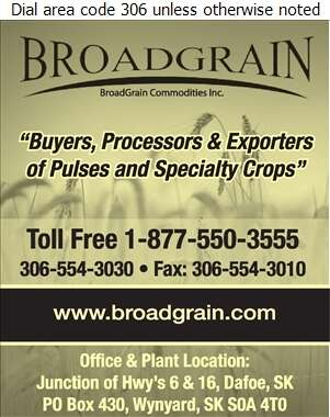 Broadgrain Commodities Inc (Elevator) - Grain Terminals Digital Ad