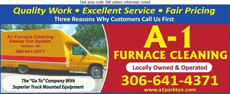 A-1 Furnace Cleaning - Furnaces Cleaning Digital Ad
