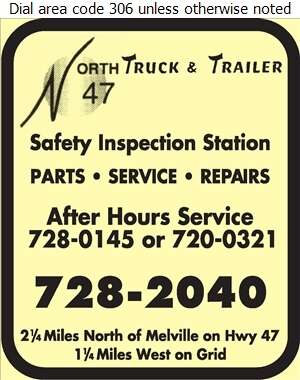 North 47 Truck & Trailer - Truck Repairing & Service Digital Ad