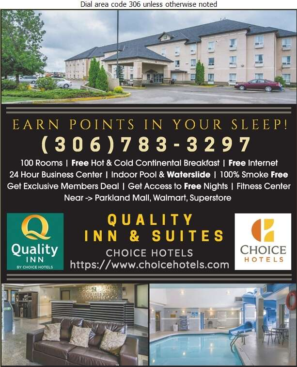 Quality Inn & Suites Yorkton - Hotels Digital Ad