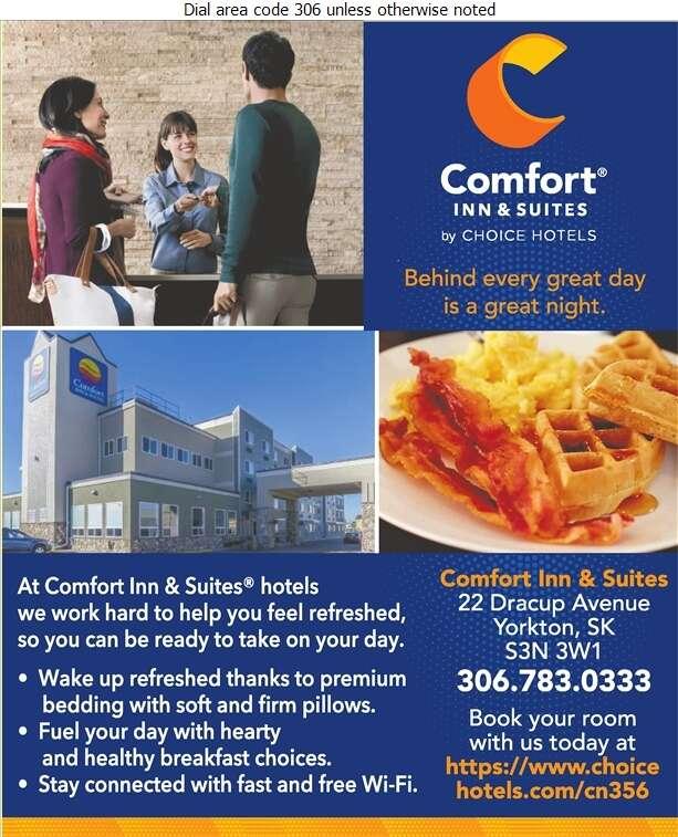 Comfort Inn & Suites - Hotels Digital Ad