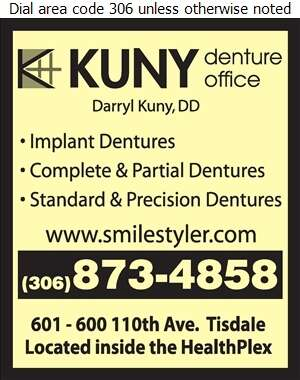 Kuny Denture Office - Denturists Digital Ad
