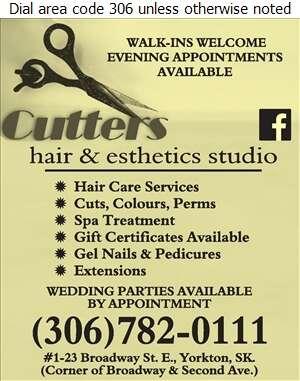 CUTTERS - Beauty Salons Digital Ad
